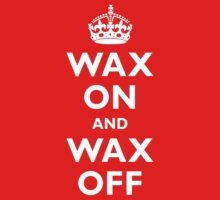 Wax On and Wax Off by adamcampen