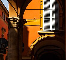 The colours of Bologna by Amber Elen-Forbat