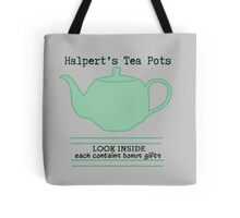 Halpert's Tea Pots Tote Bag