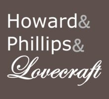 Howard Philipps Lovecraft by Ixgil
