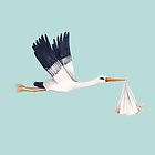 Stork Brings Baby by ThistleandFox