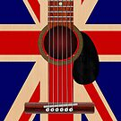 Union Jack Guitar by Packrat