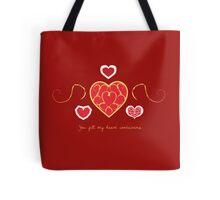 You fill my heart containers. Tote Bag