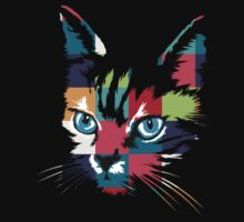 POP ART CAT by rosaluca