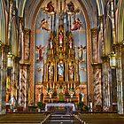 Panorama of St. Laurentius Church, Fishtown by PhillyChurches