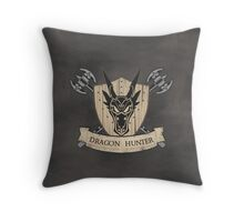 The Dragon Hunter (V1) Throw Pillow