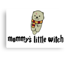 Mommy's Little Witch Canvas Print