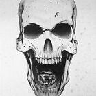 Skull & Snake by guillaume bachelier