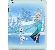 Olaf and Elsa iPad Case/Skin