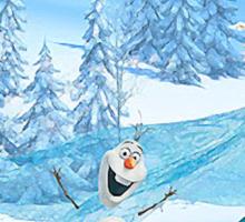 Olaf and Elsa Sticker