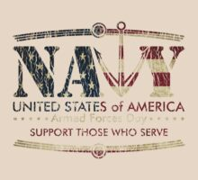 Armed Forces Day - Navy by andabelart