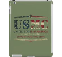 Armed Forces Day - USMC Marine Corps iPad Case/Skin