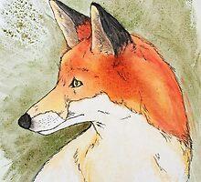 Red Fox by GardenDragon