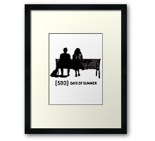 (500) Days of Summer Framed Print