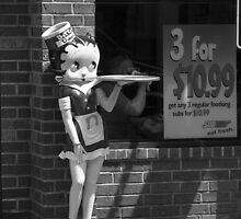 Betty Boop #1 by Frank Romeo