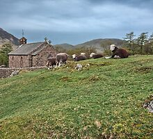 Buttermere by English Landscape Prints