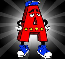 A is for AWESOME by Tom Sparke