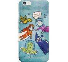 Flying & Floating iPhone Case/Skin