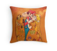 Just Before The Kiss Throw Pillow