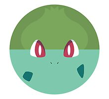 Bulbasaur Throw Pillow by badoomtch