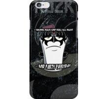 Master Shake Demon iPhone Case/Skin