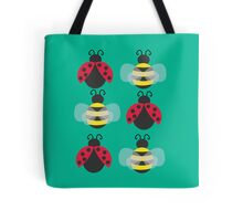 Ladybugs and bees Tote Bag