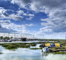 Tollesbury Harbour by Nigel Bangert