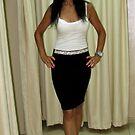 Lily - Black & White Fashion by branko stanic