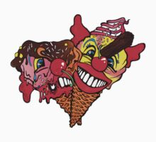 T - Shirt croissants Joker by RAINBOWARTS