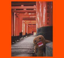 Domo-kun in Fushimi Inari-taisha by attackment