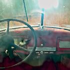 Big truck's dash board by Carolyn Clark
