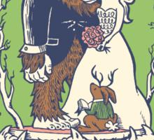 Bigfoot's Big Day Sticker