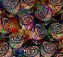 Porcelaine Roses by ArtByRuta