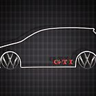 GTI Tartan  by BGWdesigns