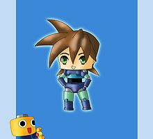 Chibi Megaman by artwaste