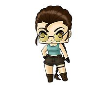 Chibi Lara Croft by artwaste