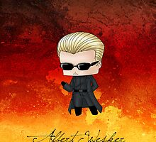 Chibi Wesker by artwaste