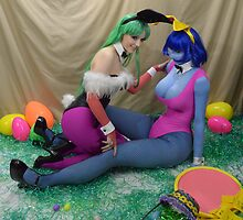 Easter darkstalkers OMG by shocktress