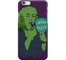 swamp queen iPhone Case/Skin