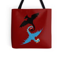 How to Train Your Dragon - Toothless and Stormfly Tote Bag