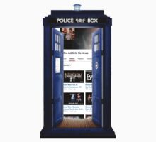 who addicts reviews- inside the Tardis T-Shirt