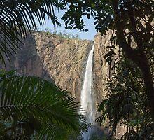 Wallaman Falls in Dry Season by Tim Burgess