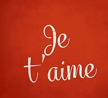 Je t'aime by Nxolab