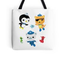 Octonauts, to your stations! Tote Bag