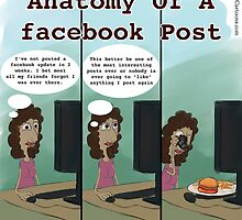 Anatomy Of A facebook Post by Rick  London
