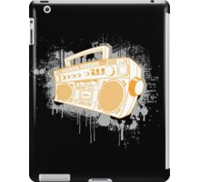 ghetto blaster iPad Case/Skin
