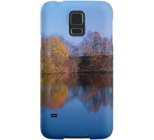 Indian summer reflections at the pond | waterscape photography Samsung Galaxy Case/Skin