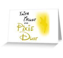 a little faith Greeting Card