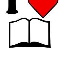 I Heart Reading by kwg2200