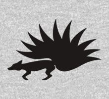 NARUTO: Nine-Tails Kurama Star Fox Logo - Black by garrison105